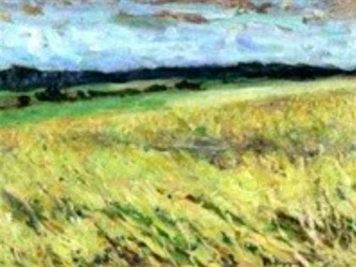 Emile-Boggio-Coin-de-plaine-Auvers-1915-huile-sur-bois-collection-prive