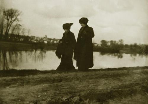 Emile-Boggio-photographies-Boggio, Auvers 1915