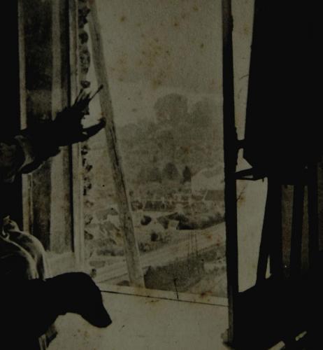 Emile-Boggio-photographies-Detalle vista taller a Enghien
