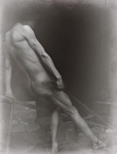 Emile-Boggio-photographies-Estudio para  cuadro Labor Boggio