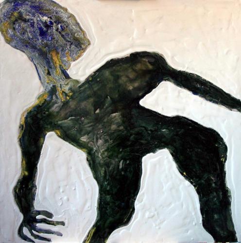 2003 - Premières peintures à Auvers sur Oise