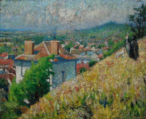 Emile-Boggio-176 les petits rentiers 1912 59x73
