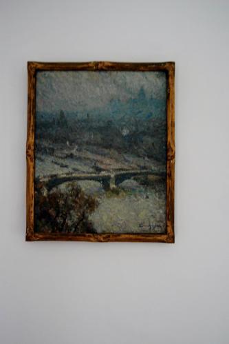 Emile-Boggio-215 etude sur le pont des saints päres 27x22