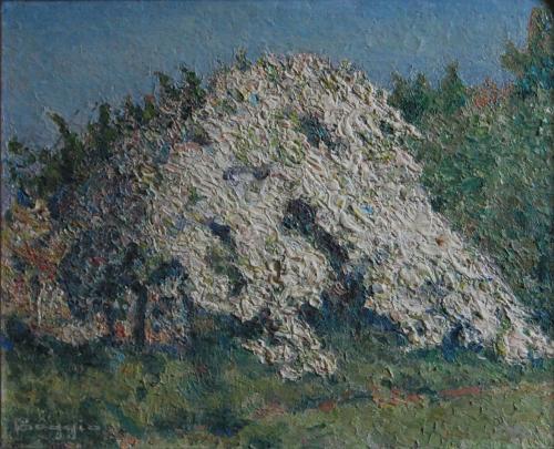 Emile-Boggio-246 epanouissement 1915 38x46