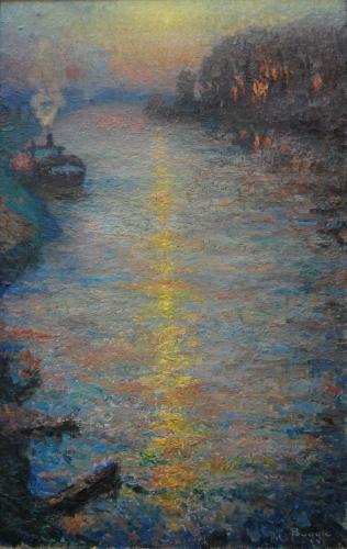 Emile-Boggio-456 venus etoile du crepuscule 1913-1914 82x51