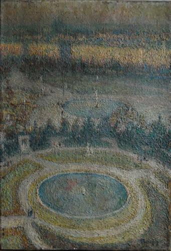 Emile-Boggio-517 les bassins des tuilleries 1914 55x38