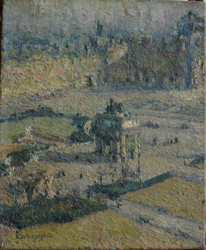 Emile-Boggio-557 place du carroucel 1914 27x22