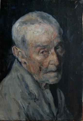 Emile-Boggio-705 etude de tete de vieillard 36x25