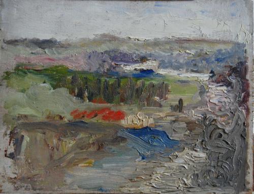 Emile-Boggio-790 etude de paysage 18,5x24