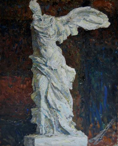 Emile-Boggio-victoire de samotras 1911 100x80