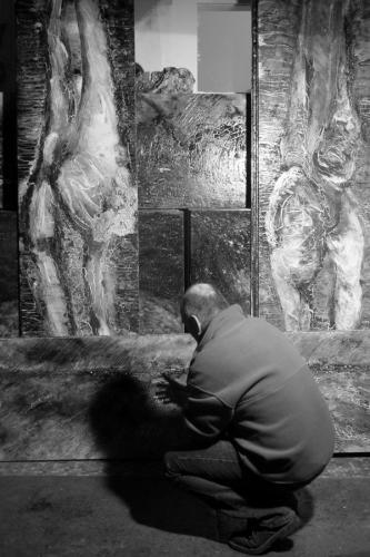 2001 - ambiance atelier de Pontoise